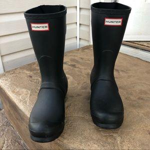 Hunter Rain Boot (short)